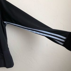 adidas Jackets & Coats - Adidas Black Three Striped Fitted Jacket